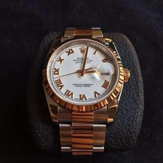 Datejust 36mm pink gold