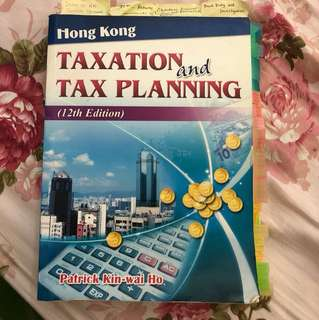 Hong Kong taxation and tax planning 12th edition