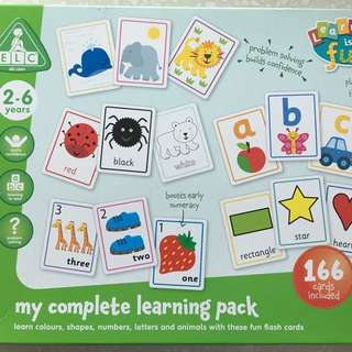 My Complete Learning Pack Flash cards