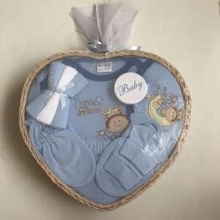 New Born Gift Set Baby Boy Gift Basket