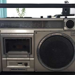Vintage National Radio (Cassette & Radio Function)