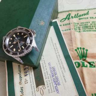 Rolex Submariner Meters First, Box + Paper