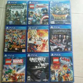 Ps4 Games Wts