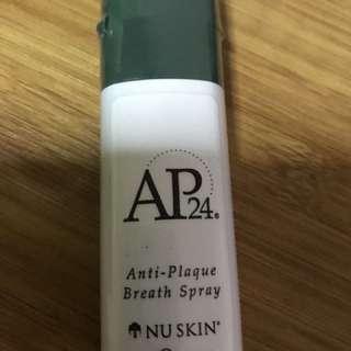 Nu skin anti plaque breath spray