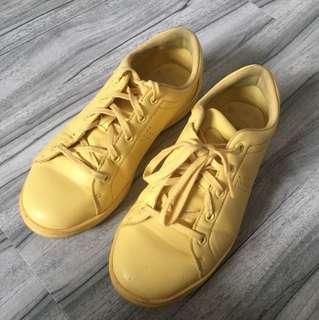 Bershka sneakers baby yellow