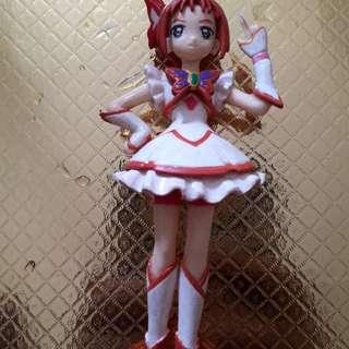 Cute girl key chain figure