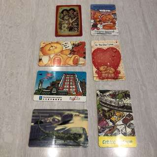 Singapore vintage Phonecards