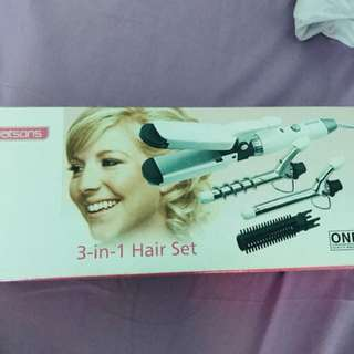 watson 3 in 1 hair set