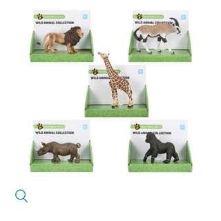 Brand New: Good Quality Animal Figurines