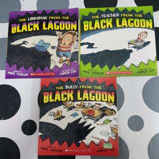 The Teacher From The Black Lagoon (3 titles)