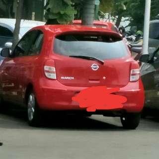 Nissan March Th 2012 Pajak Panjang Pemakaian Pribadi Mesin Ok Semua