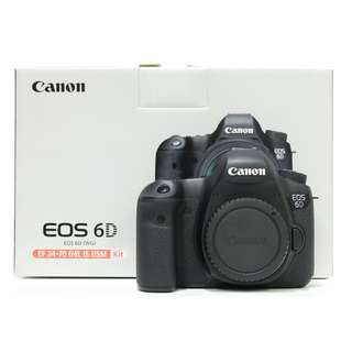 Canon EOS 6D Body Only (SC: 10K+)