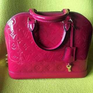 Authentic LV Louise Vuitton Monogram Vernis bag