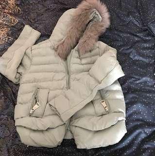 新款短棉外套