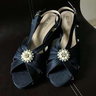 Scarpa Blue Heels (Custom Made)