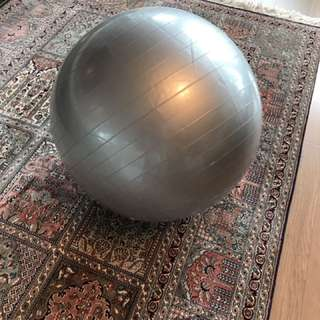 Foldable yoga bouncing ball (standard size) - used two times only