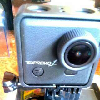 Supremo 1 12mp Action Camera Waterproof