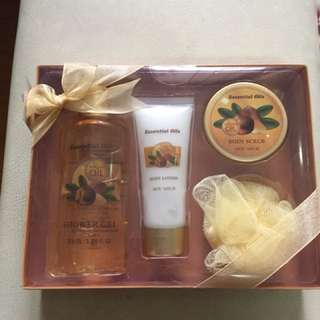 Argan Oil Bath Set