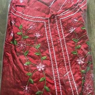Chilli red telekung travel