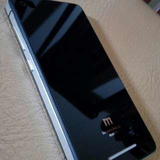 Tempered Glass Back Cover utk Xiaomi Redmi 3