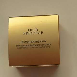 BN Dior Prestige Exceptional Regenerating Eye Care