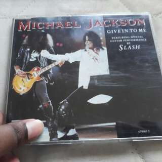 Give in to me Single Michael Jackson