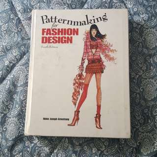 Paternmaking for Fashion Design 4th edition