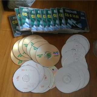 Maxell CD-R DVD-R + SOHOT CD-R DVD-R