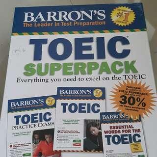 BARRON'S TOEIC SUPERPACKS