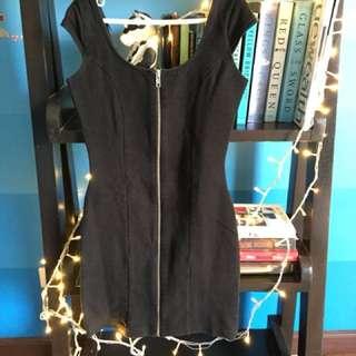 H&M bondage dress