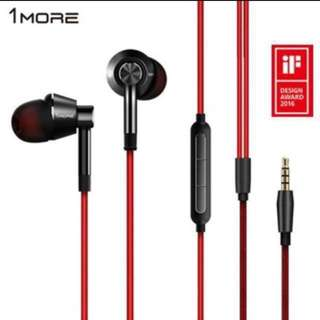 1MORE Single Driver in-ear headphone with mic