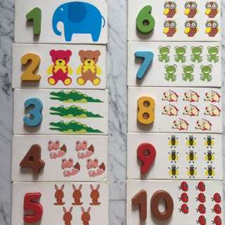 Montessori Wooden Toy - Counting