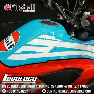 FIREBALL DETAILING WITH REVOLOGYBIKES!