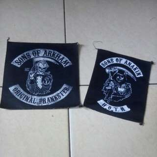Sons of arkham & sons of anakin patch