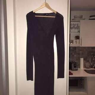 Aritzia Burgundy Dress