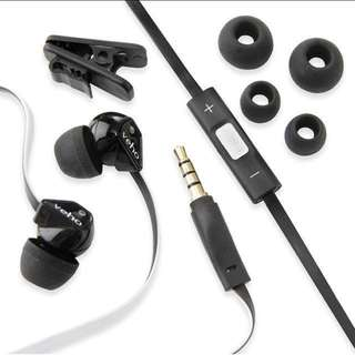 Veho Z-2 In-Ear Headphones Noise Isolating Stereo Earphones