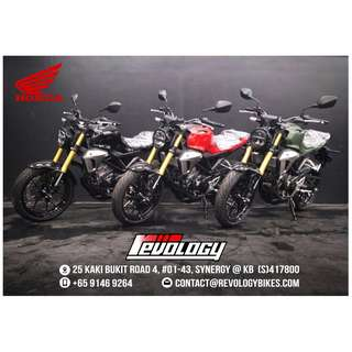 IN STOCK! HONDA CB150R ExMOTION CNY PROMOTION