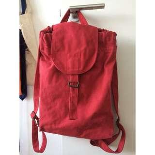 Baggu Red Back Pack