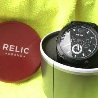 Jam tangan pria sporty merk relic