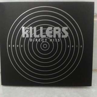 CD The Killers album Direct Hits, import mulus.