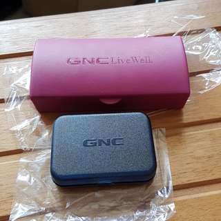 Brand New GNC Pill Boxes