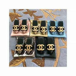 Rare Chanel Foldable Flats (Free International Shipping)
