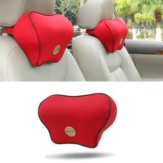 [PO] Universal Car Slow Rebound Headrest Cushion Memory Cotton Pillow Head Neck