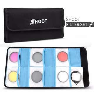 Shoot 8 in 1 Filter Set for (TGP315) Gopro Hero 3+ / 4 (XTGP422) Gopro Hero 5 / 6
