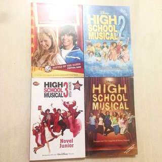High School Musical Novel Series