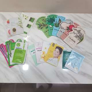 #huat50sale SHEET MASKS SALE KOREAN TAIWAN