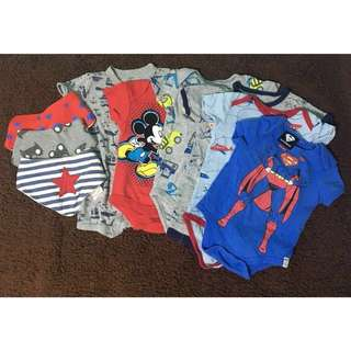 Baby Boy 3-6mths Rompers