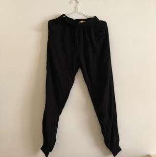 Black Genie Pants