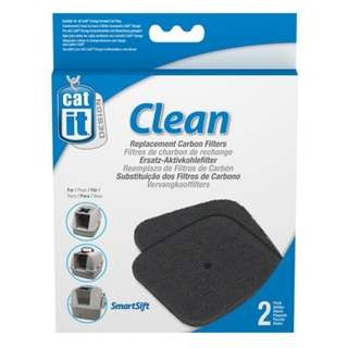 Catit Clean Replacement Filters For Hooded Cat Pan