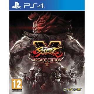 PS4 Street Fighter V Arcade Edition R2